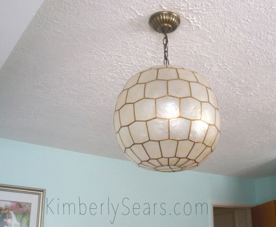 "Mark has lovingly christened this the ""Deseret disco ball"" for its honeycomb-like design. I love it for its West Elm kind of bold yet understated style."